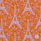 エッフェル塔(オレンジ)